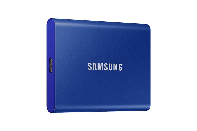 Samsung T7 Portable SSD Drive 1TB (Blue)