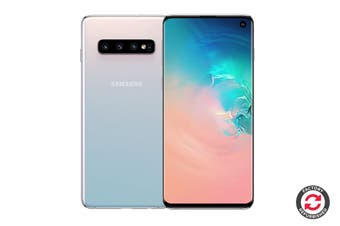 Samsung Galaxy S10 Refurbished (128GB, Prism White) - A+ Grade