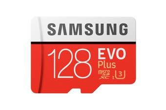 Samsung EVO Plus 128GB MicroSDXC 100Mb/s Class 10 UHS-1 Card (MB-MC128GA/APC)