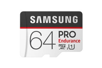 Samsung Pro Endurance 64GB MicroSDXC Class 10 UHS-1 SD Card