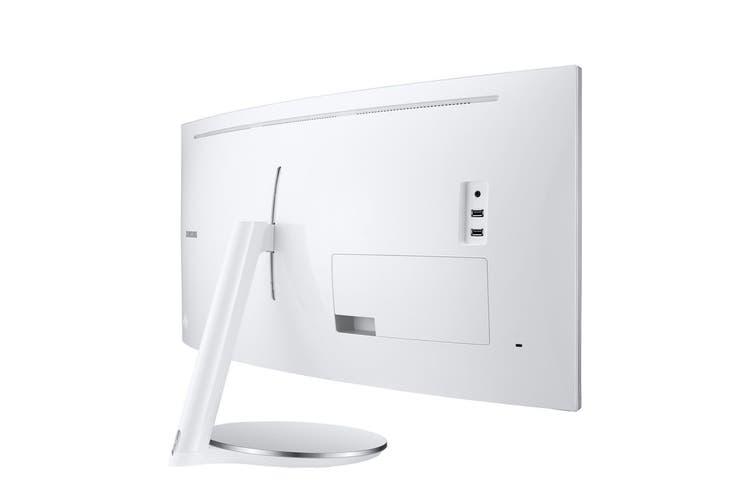 "Samsung 34"" 21:9  3440x1440 Ultra WQHD Thunderbolt 3 QLED Curved Monitor (LC34J791WTEXXY)"