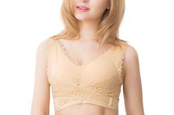 SaraMia Bra (Nude, XL)