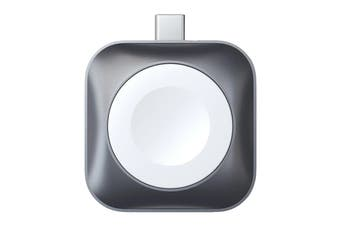 Satechi USB-C Magnetic Charging Dock for Apple Watch - Space Grey