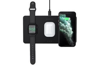 Satechi Trio Wireless Charging Pad - Space Grey
