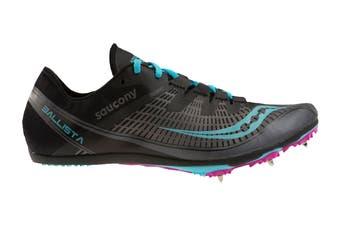 Saucony Women's Ballista 2 Running Shoe (Grey/Blue, Size 8 US)