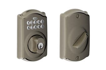 Schlage Keypad Deadbolt with Camelot Trim