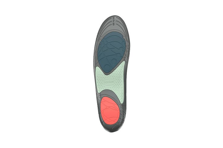 Dr. Scholl's Women's Athletic Series Running Insoles (Grey, Size 5.5-9 US)