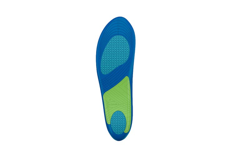 Dr. Scholl's Men's Advanced Sport Insoles (Green, Size 8-14 US)