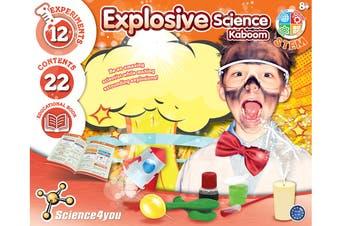 Science4you Explosive Science Kit
