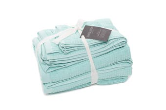 Sheraton Como 5 Piece Towel Pack - Aqua Mint