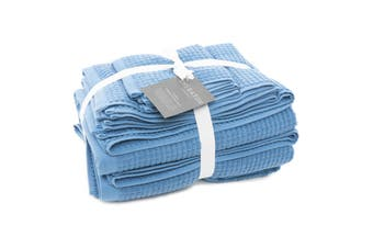 Sheraton Como 5 Piece Towel Pack - Indigo Blue