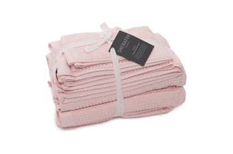 Sheraton Como 5 Piece Towel Pack -  Rose Cloud