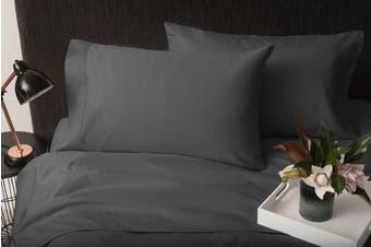 Sheraton 1000TC 100% Cotton Quilt Sheet Set - Dark Smoke (King)