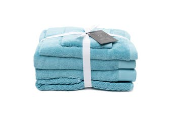 Sheraton Sydney Australian Cotton 5 Piece Towel Pack - Blue Wash