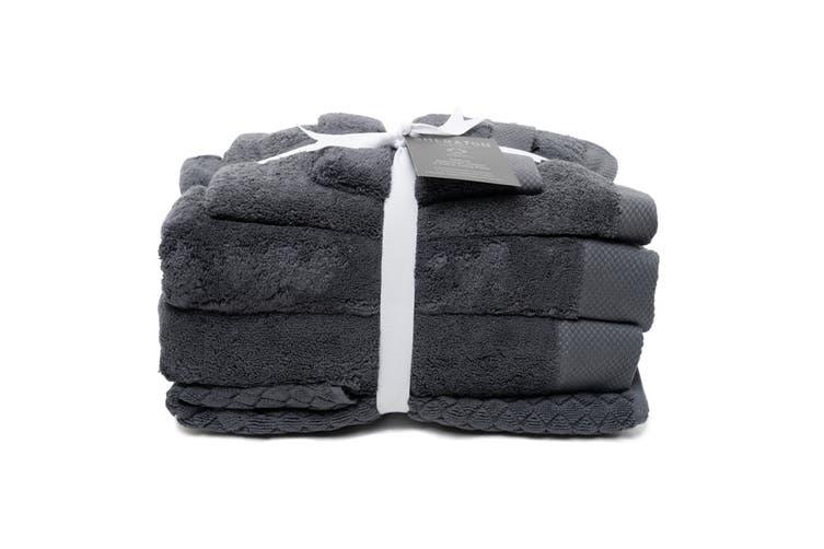 Sheraton Sydney Australian Cotton 5 Piece Towel Pack - Dark Grey