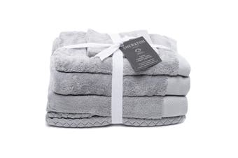 Sheraton Sydney Australian Cotton 5 Piece Towel Pack - Mineral Grey