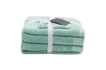 Sheraton Sydney Australian Cotton 5 Piece Towel Pack - Green Wash