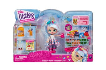 Shopkins Real Littles Chrissy Puffs Shopping Cart