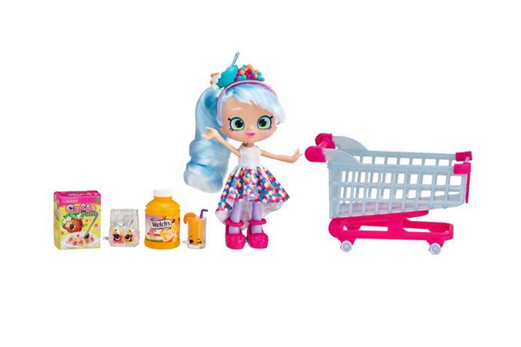 Shopkins Real Littles Chrissy Puffs Shopping Cart