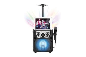Singing Machine Mini Fiesta- Bluetooth + Light Show (SML640)