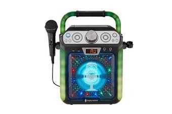 Singing Machine Groove Cube Karaoke System (SML682BTBK)