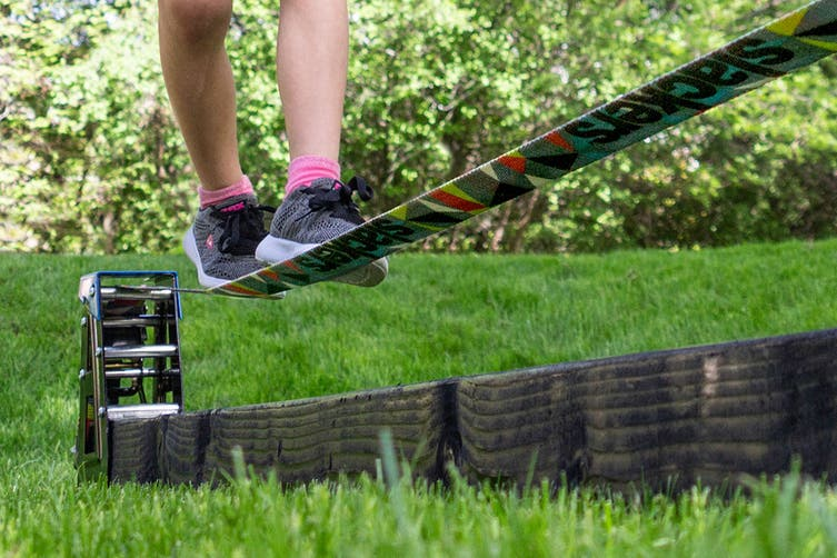 Slackers Portable Slack Rack for Obstacle Sports and Outdoors