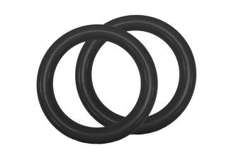 Slackers Ninjaline Traverse Ninja Rings 2pcs for Obstacle Sports and Outdoors
