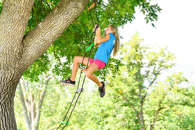 Slackers Bachar Ladder for Obstacle Sports and Outdoors