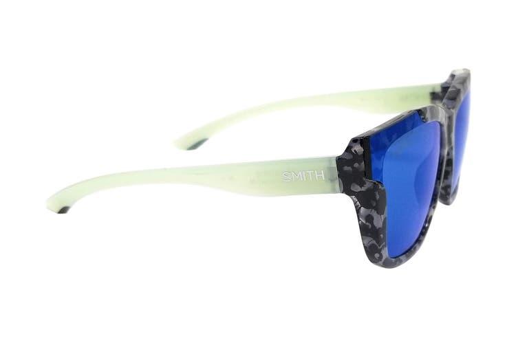 Smith DREAMLINE Sunglasses (Havana Grey Green Red, Size 62-17-140) - Chromapop Blue Mirror