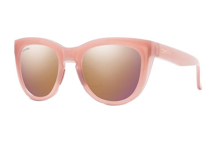 Smith SIDNEY Sunglasses (Beige Brown, Size 52-22-145) - Violet Mustard Gradient