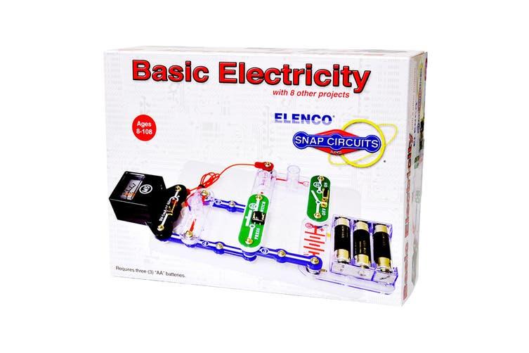 Snap Circuits Mini Kit Basic Electricity (SCP-10 )