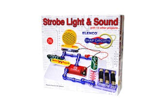 Snap Circuits Mini Kit Strobe Light & Sound (SCP-14 )