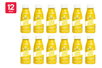 SodaKING Lemon Squash Syrup Flavour - 12 Pack of 250ml (614297)