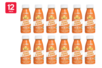 SodaKING Orange & Mango Syrup Flavour - 12 Pack of 250ml (614365)