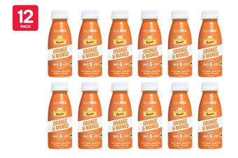 SodaKING Orange & Mango Syrup Flavour - 12 Pack of 250ml (614365)