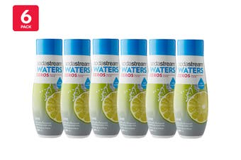 SodaStream Zero Lime Flavouring (6 Pack)