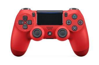 PS4 PlayStation Dualshock 4 Controller (Red)
