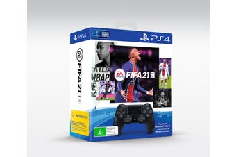 PS4 PlayStation Dualshock 4 Controller FIFA 21 Bundle