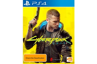 Cyberpunk 2077 Day One Edition (PlayStation 4)
