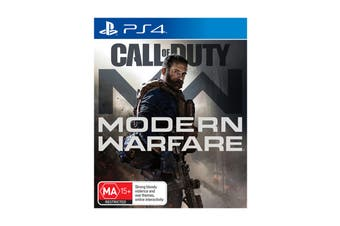 Call of Duty Modern Warfare (PlayStation 4)