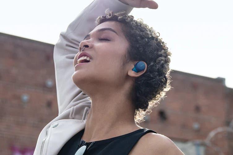 Sony WF-XB700 Truly Wireless In-Ear Headphones (Blue)