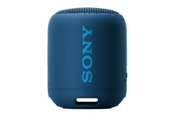 Sony EXTRA BASS Bluetooth Portable Speaker - Blue (XB12)