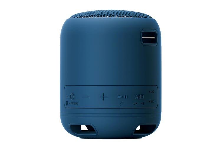 Sony EXTRA BASS Bluetooth Portable Speaker - Blue (XB12)
