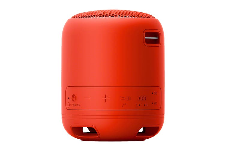 Sony EXTRA BASS Bluetooth Portable Speaker - Red (XB12)
