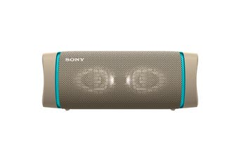 Sony EXTRA BASS Bluetooth Portable Speaker - Taupe (XB33)