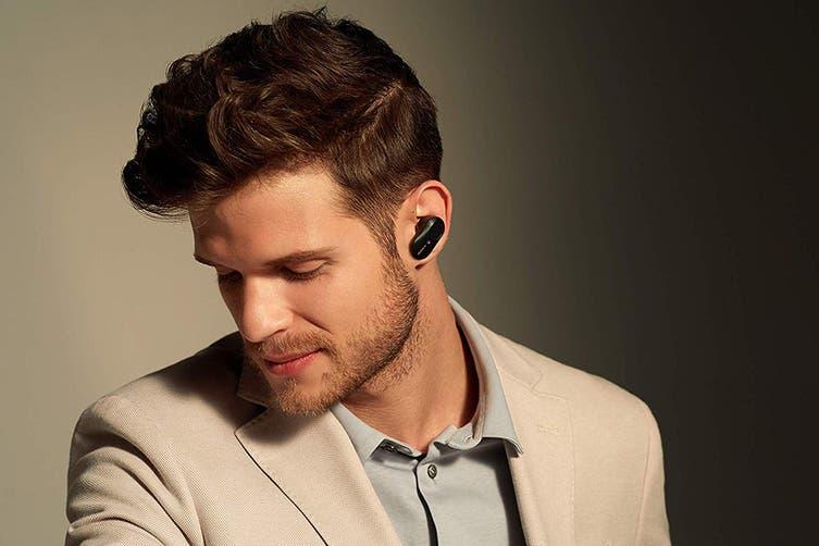 Sony WF1000XM3 Truly Wireless Noise Cancelling In-Ear Headphones (Black)