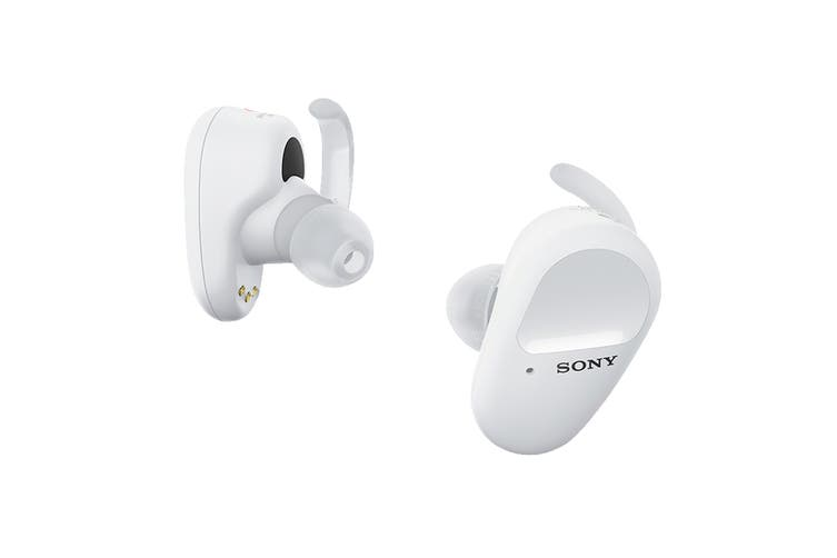Sony True Wireless Noise Cancelling Sports Headphones White (WF-SP800N)