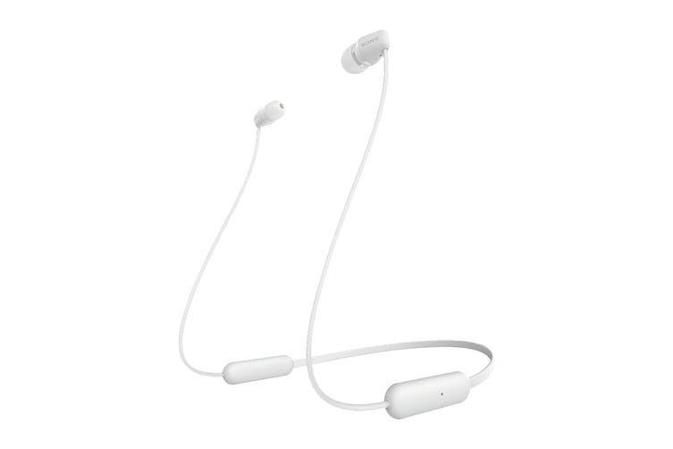 Sony WI-C200 Wireless in-Ear Headphones (White)