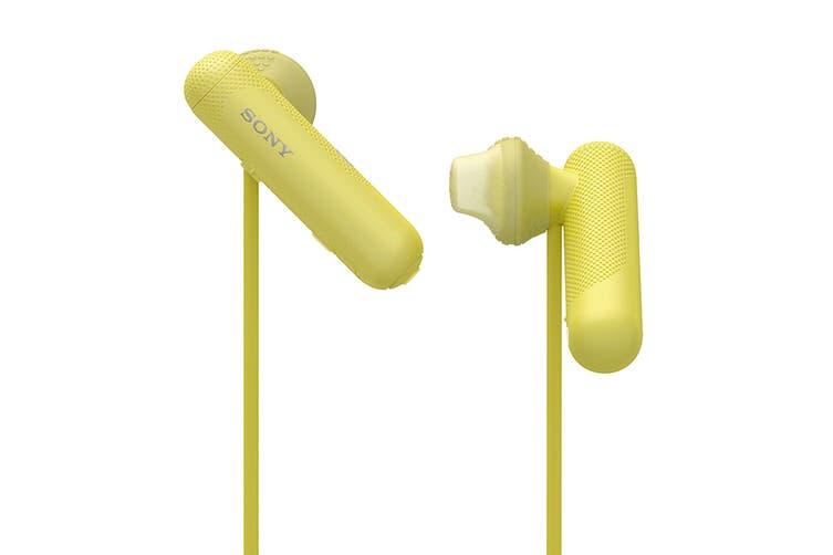 Sony In-Ear Sports Headphone with Bluetooth - Yellow (WISP500Y)