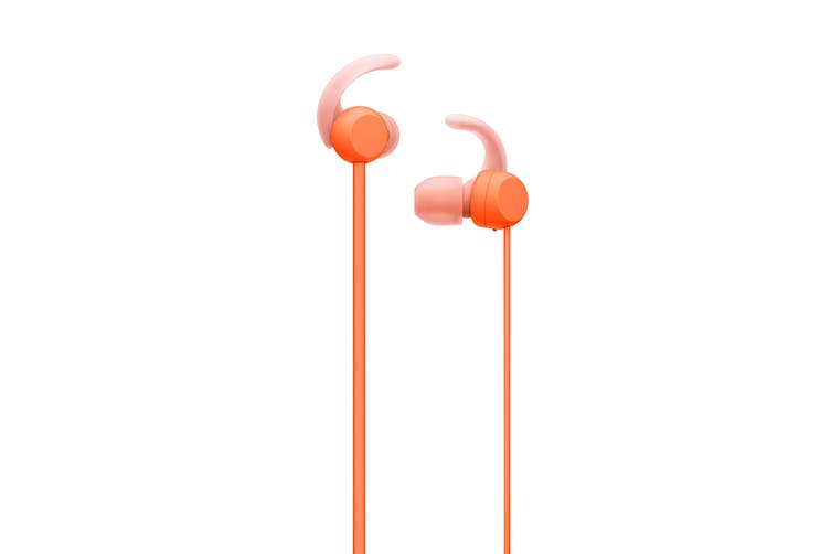 Sony WISP510D Wireless In-Ear Sports Headphones (Orange)